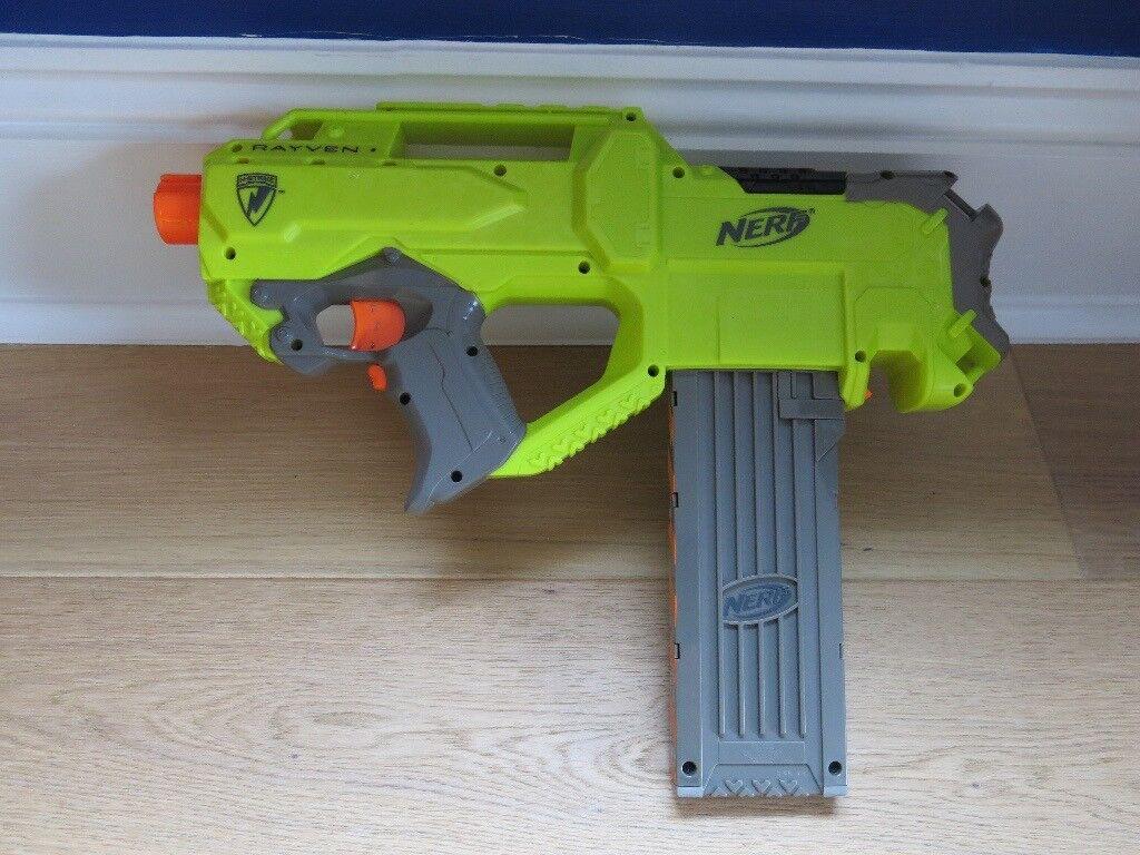 Modification Kit for NERF N-Strike Rayven (Voltage Mod)