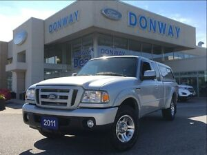 2011 Ford Ranger | 1 OWNER| ACCIDENT FREE | JUST TRADED-IN