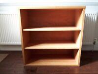 Habitat Bookcase in beech veneer. In good condition.