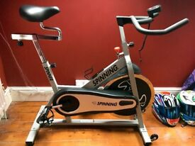 Spinning bike excellent condition
