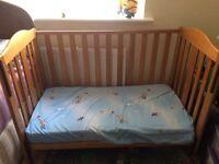 Reduced!!!!Cotbed&foam mattress...bargainnn!!!