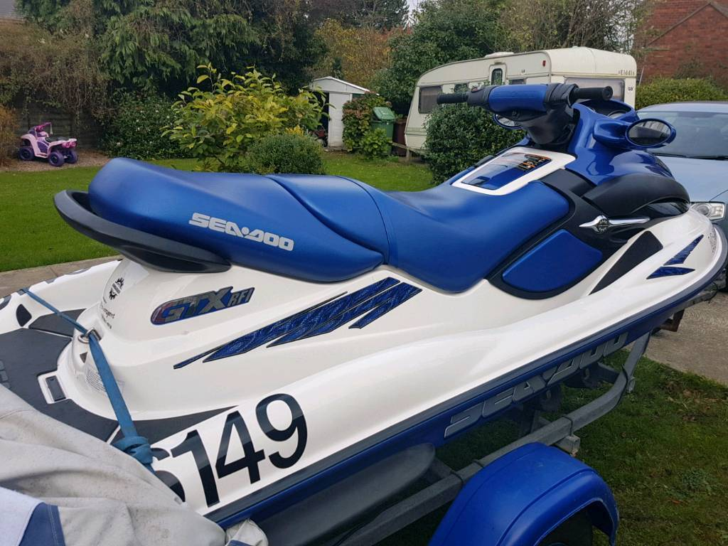 2002 year jet ski sea doo bombardier gtx rf1 with trailer in leeds city centre west yorkshire. Black Bedroom Furniture Sets. Home Design Ideas