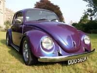 Classic VW Beetle 1972, fully restored, great interior, pearlescent paint, no expense spared