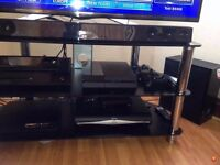 Playstation 4 Console with most played games & controllers !!