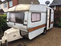 Abbey 2 berth caravan classic