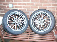 Brand New WOLFRACE ALLOY WHEELS 17 INCH 5x108 Alpha Romeo Jaguar x s type XJ Volvo XC90 alloys wheel