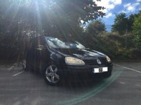 VW GOLF 1.9 TDI, BLACK, FSH, TIMING BELT DONE BY VW, EXCELLENT CONDITION