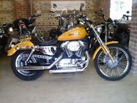 2008 SHOWROOM CONDITION HARLEY DAVIDSON XL1200C SPORTSTER LOADS OF EXTRAS, LOW MILEAGE