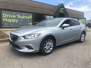2016 Mazda Mazda6 GS / LEATHER / SUNROOF / NAVIGATION