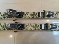 skis , roxy freestyle, recently waxed and edged.good condition,