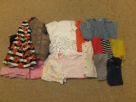 Girls Clothes Bundle aged 1 1/2 -2 ( Bundle 2)