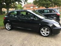 Peugeot 307s, Low Mileage & Good Runner
