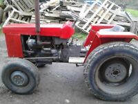 Kubota L245 compact 4wd tractor
