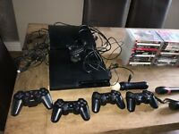 Slimline PS3 x 2 plus games and accessories