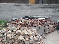 Rocks/rubble. Free to collector. Approx 5 ton.