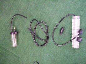 CO2 Counter + CO2 defuser + one way valve - good condition