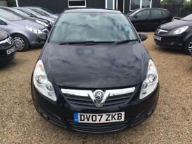 VAUXHALL CORSA 1.2 i 16v DESIGN HATCH 3DR 2007*IDEAL FIRST CAR* CHEAP INSURANCE* EXCELLENT CONDITION