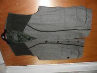 Rydale tweed waistcoat, fishing shooting, hunting, as New, Unworn XL