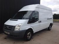 2010 Ford Transit 2.4 TDCi 350 LWB High Roof Duratorq 6 speed 12 Months MOT 1 Month Warranty May PX