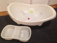 Baby bath and Top & tail bowl