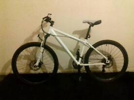 Carrera vulcan mountain bike disc brakes 24 gears front suspension open to offers