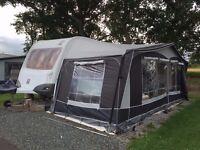 Knaus StarClass 4 Berth Caravan New Awning
