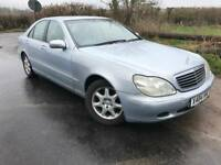 Mercedes S320, AUTOMATIC, full MOT.