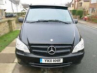 Mercedes Vito Dualiner Full MBSH ***Price INCLUDES VAT*** 1 Free Mercedes Main dealer Service left