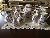 Masons Ironstone Cathay pottery, 11 pieces excellent condition