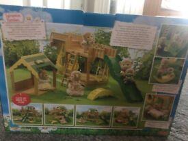 sylvanian Families Garden Playground