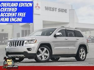 """2011 Jeep Grand Cherokee Overland 5.7L """"ONLY $110 WEEKLY"""