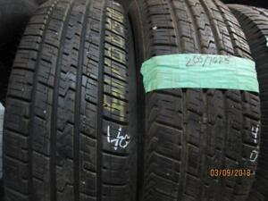 205/70R15 2 ONLY USED HERECULES A/S TIRE