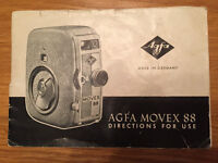 Agfa Movex 88 Cine Camera Manual