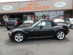 2001 BMW Z3 Roadster 2.5i, CONVERTIBLE
