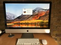 iMac 27 2.8Ghz Intel Core i7 - 160GB SSD & New 1TB HDD - 8GB DDR3 ram - Magic Keyboard & Magic Mouse