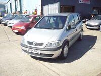 Vauxhall Zafira Life 16v (aluminium silver) 2004