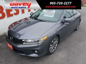 2013 Honda Accord EX-L-NAVI V6 NAVIGATION, SUNROOF, LEATHER I...