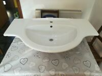 Ex display large double ended sink