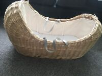 Apple and pears Moses basket
