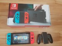 Nintendo Switch boxed in great condition