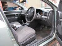 2003 Vectra C , 1.8 petrol, 5 speed manual gearbox