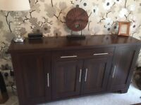 Sideboard, Dining Table and Chairs