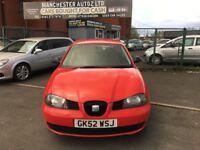 SEAT Ibiza 1.2 12v S 3dr SERVICE HISTORY,