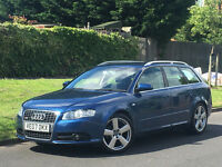 2007 AUDI A4 AVANT 2.0 TDi S LINE + CAMBELT/WATERPUMP CHANGED +