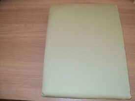 BRAND NEW IN SEALED PACKET LIGHT GREEN PENCIL PLEAT LINED CURTAINS W66 X D72 INCHES £10 PER PAIR