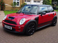 MINI HATCH COOPER 1.6 COOPER S 3d 168 BHP HALF LEATHER TRIM, PARKING SENSORS EXCELLENT CONDITION