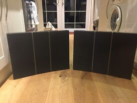 Speakers: B&O Bang Olufsen BeoVox RL60.2 Red Line 3-way Bass Reflex Speakers Grey