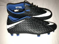 Junior Nike Hypervenom Football Boots for Firm Ground Size 6