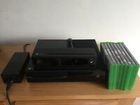 Microsoft Xbox One Inc Kinect - 500 GB Black Console with 8 Games