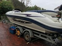 Seadoo challenger 2000 240bhp jet boat not yamaha kawasaki jet ski